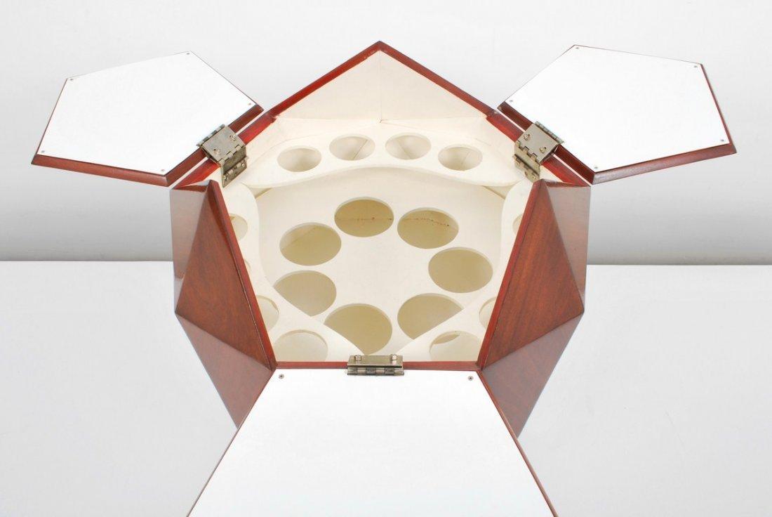 153: Multifaceted Sphere Bar, Ico Parisi - 4
