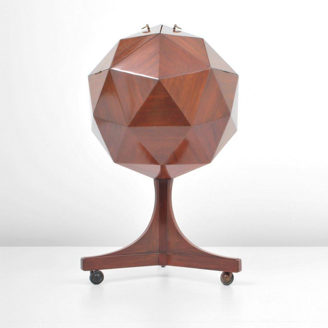 153: Multifaceted Sphere Bar, Ico Parisi - 6