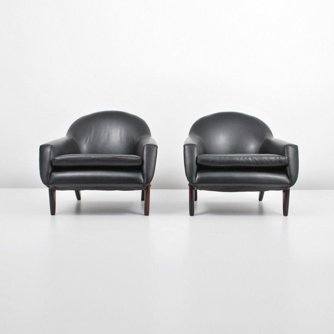 """171: Rare Sergio Rodrigues """"Poltrona Stella"""" Chairs"""