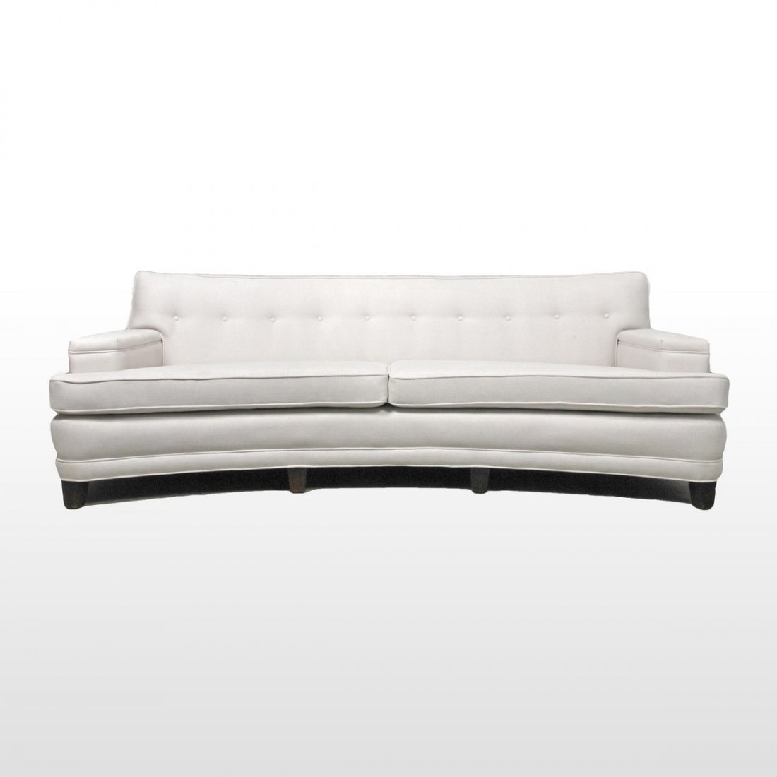 Edward Wormley Curved Front Sofa