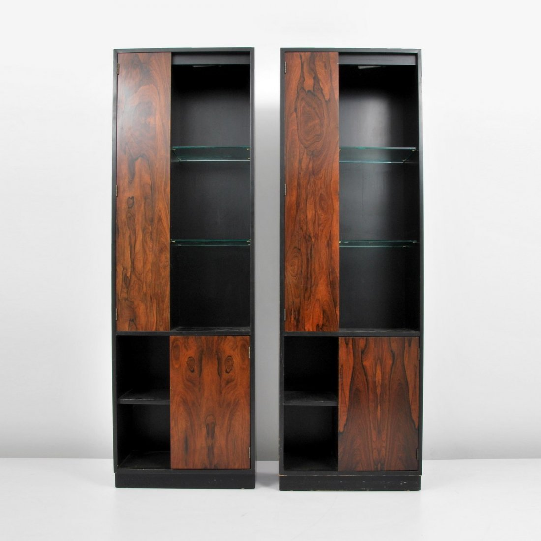 Pair of Harvey Probber Display Cabinets