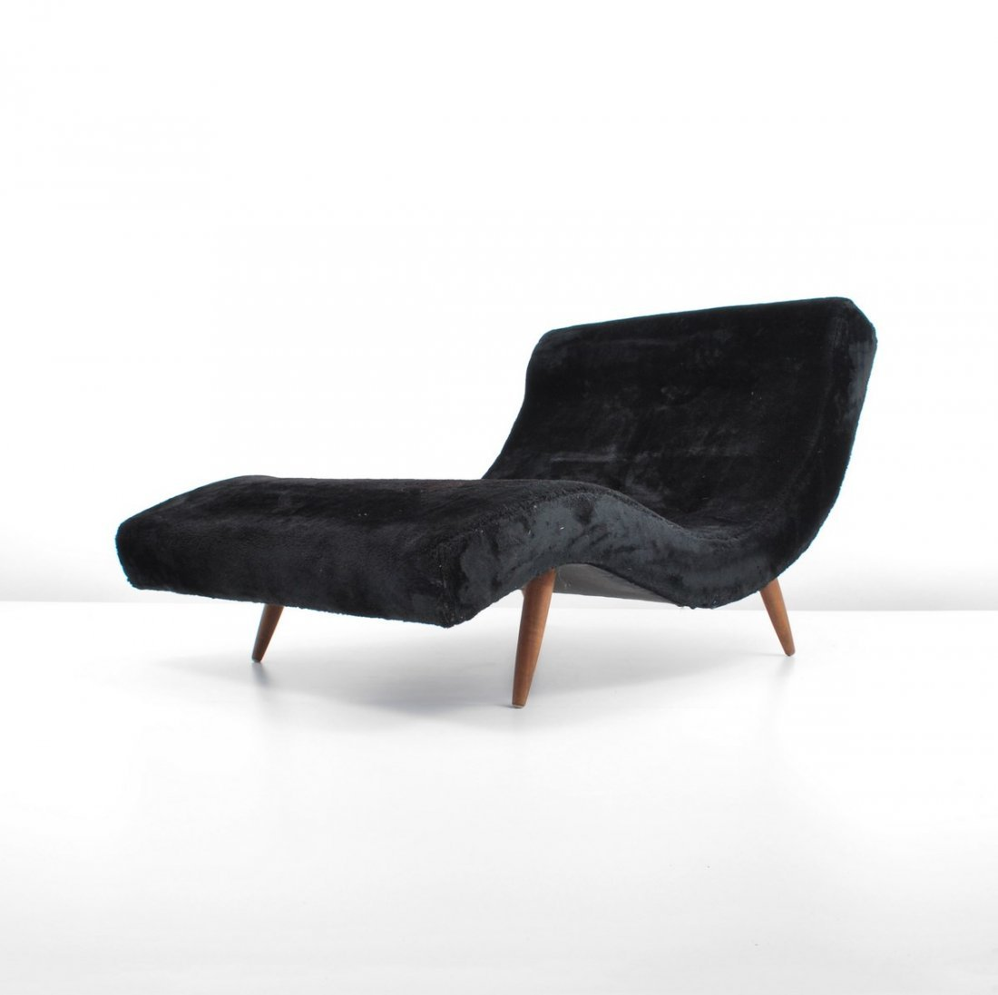 Adrian pearsall wave chaise lounge chair for Asian chaise lounge