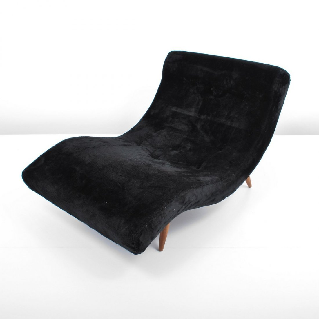"""Adrian Pearsall """"Wave"""" Chaise Lounge Chair - 2"""