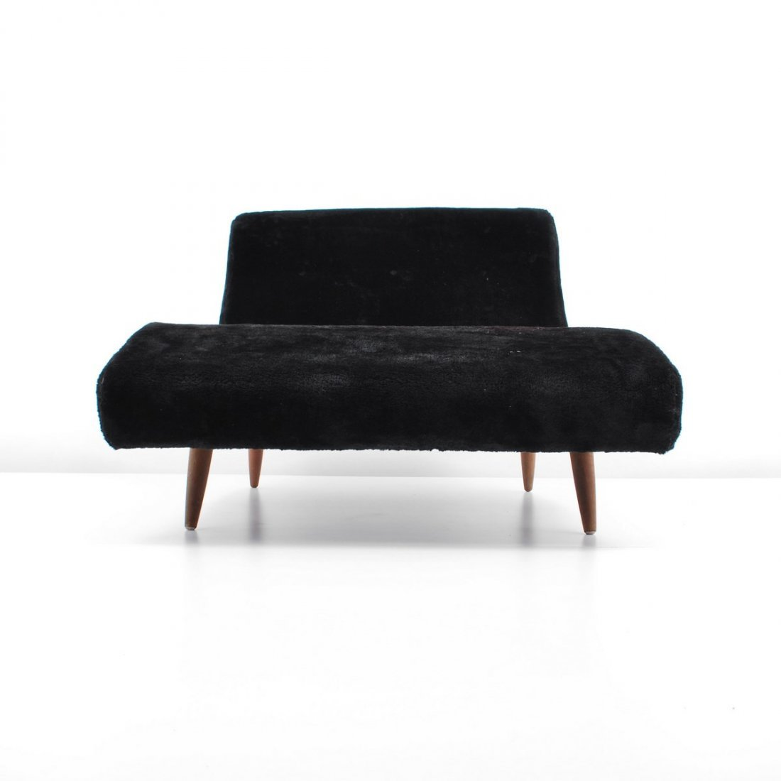 """Adrian Pearsall """"Wave"""" Chaise Lounge Chair - 4"""