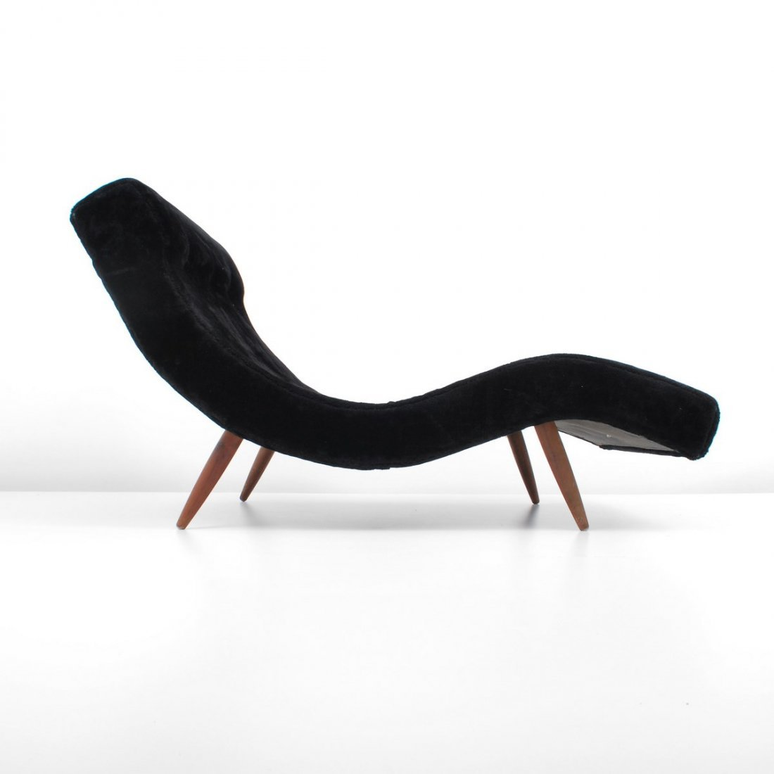 """Adrian Pearsall """"Wave"""" Chaise Lounge Chair - 5"""