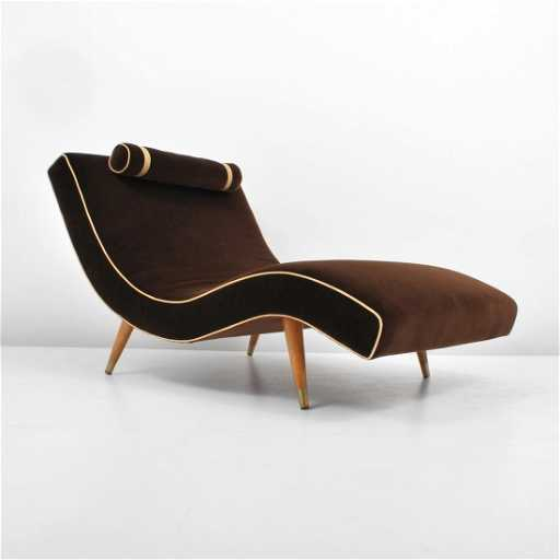 Adrian Pearsall Quot Wave Quot Chaise Lounge Chair
