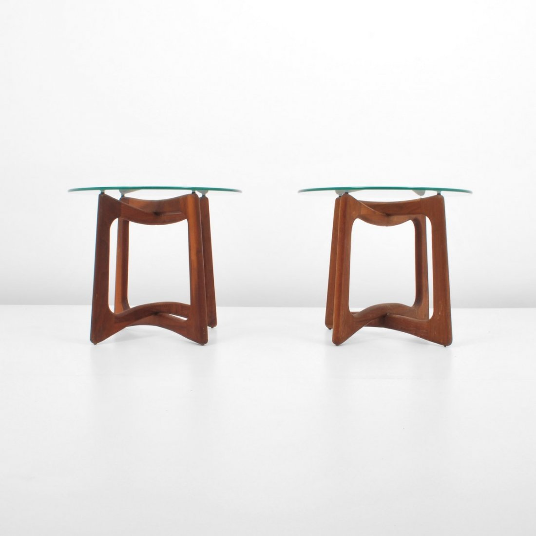 Pair of Adrian Pearsall End Tables