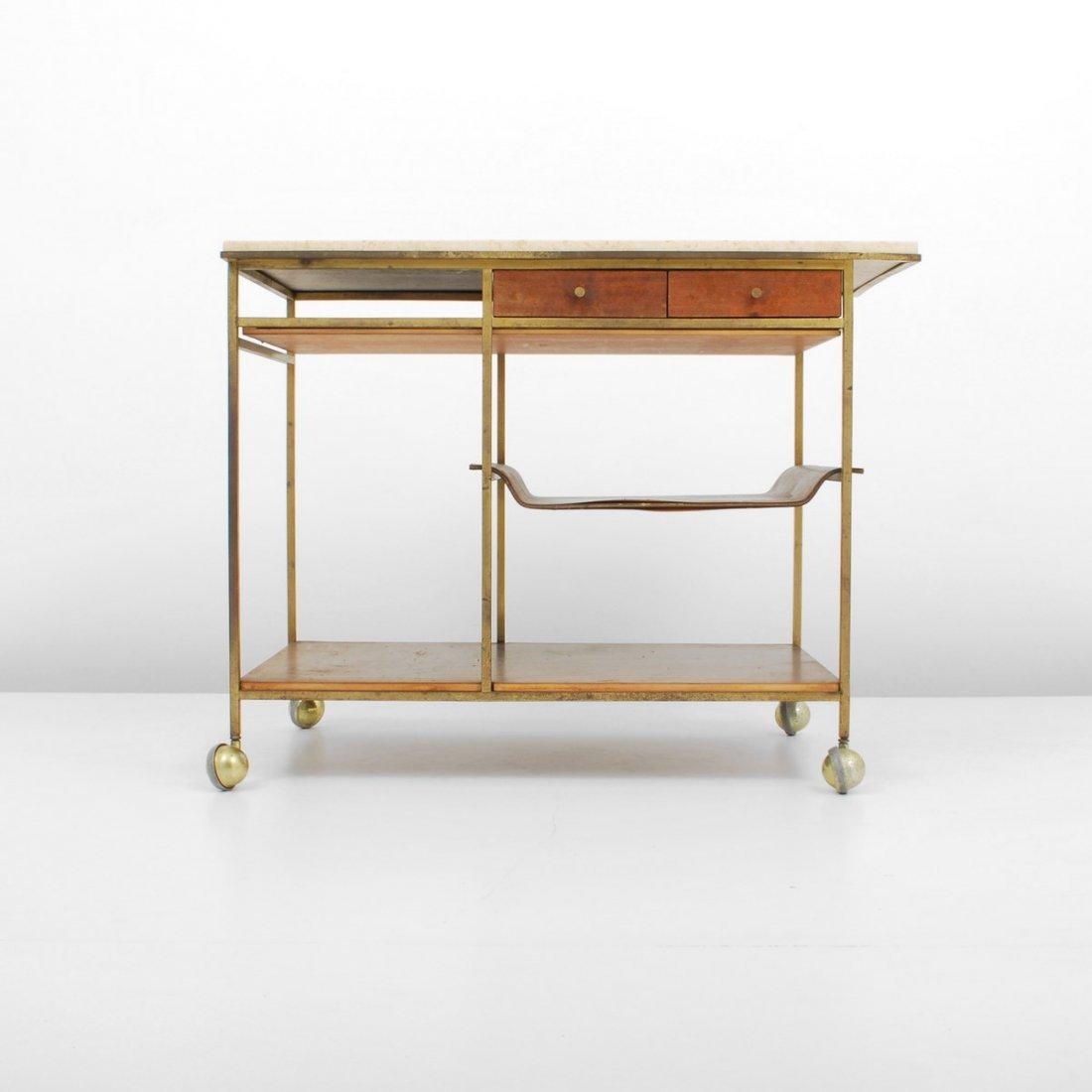 Paul McCobb Tea Cart, Irwin Collection