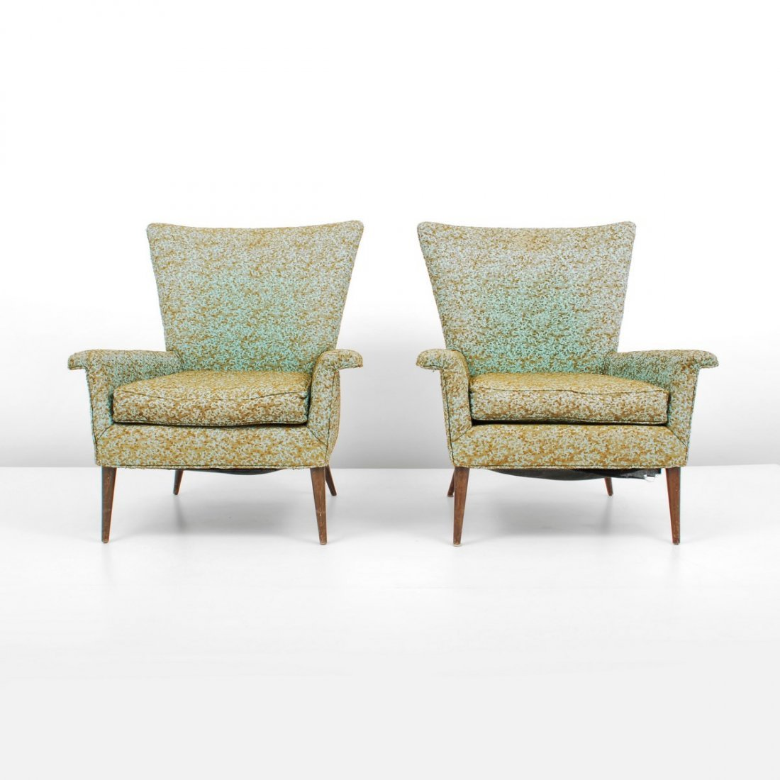 """Pair of """"Wing"""" Lounge Chairs, Paul McCobb"""