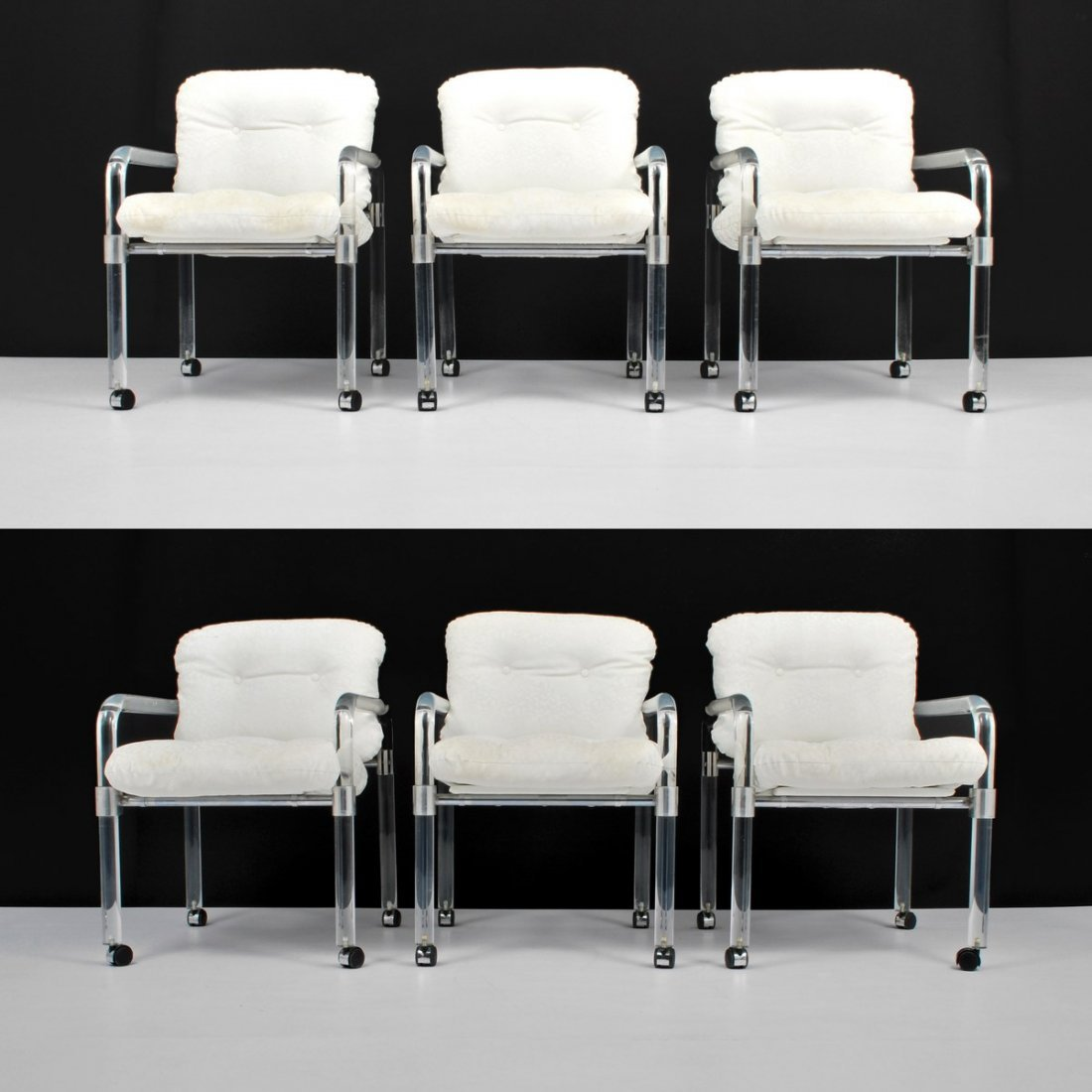 Jeff Messerschmidt Arm Chairs, Set of 6