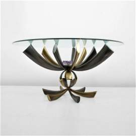 Rare Jacques Duval-Brasseur Dining Table