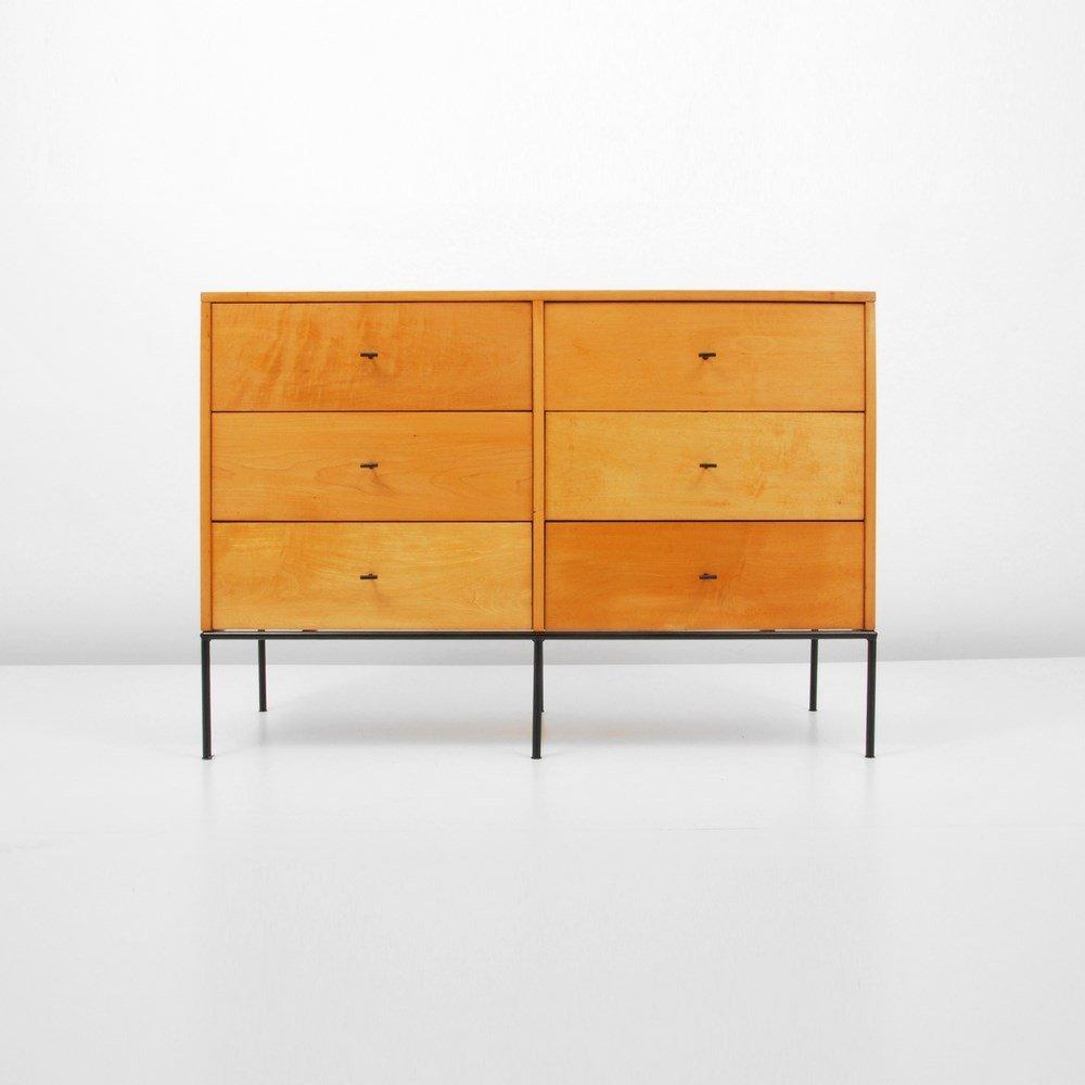 Paul McCobb 6 Drawer Cabinet