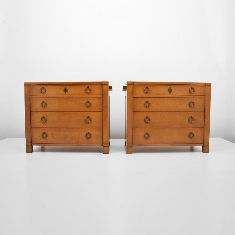 Pair of Baker Chest of Drawers