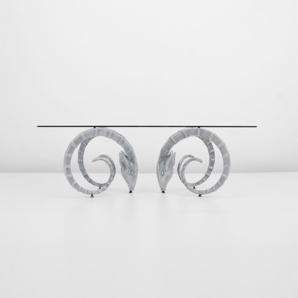 Ibex Cocktail Table, Manner of Chervet