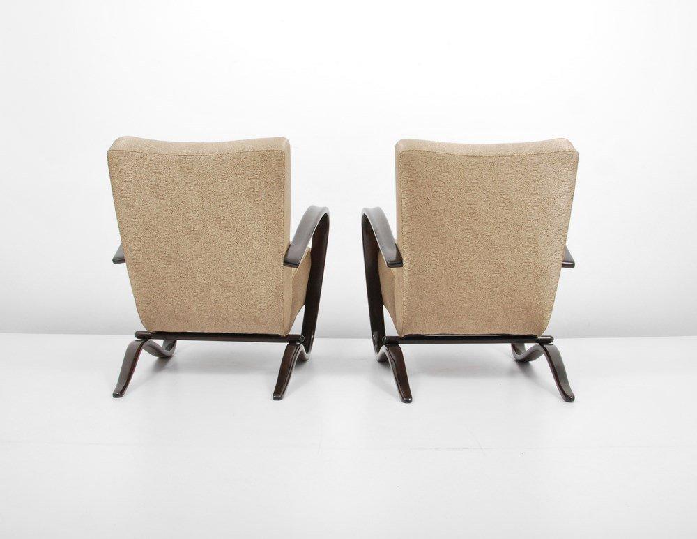 "Pair of Jindrich Halabala ""H269"" Lounge Chairs - 2"