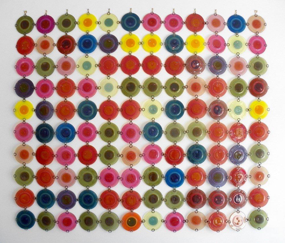 "Michael & Frances Higgins ""Rondelay"" Screen, 120 Pieces"