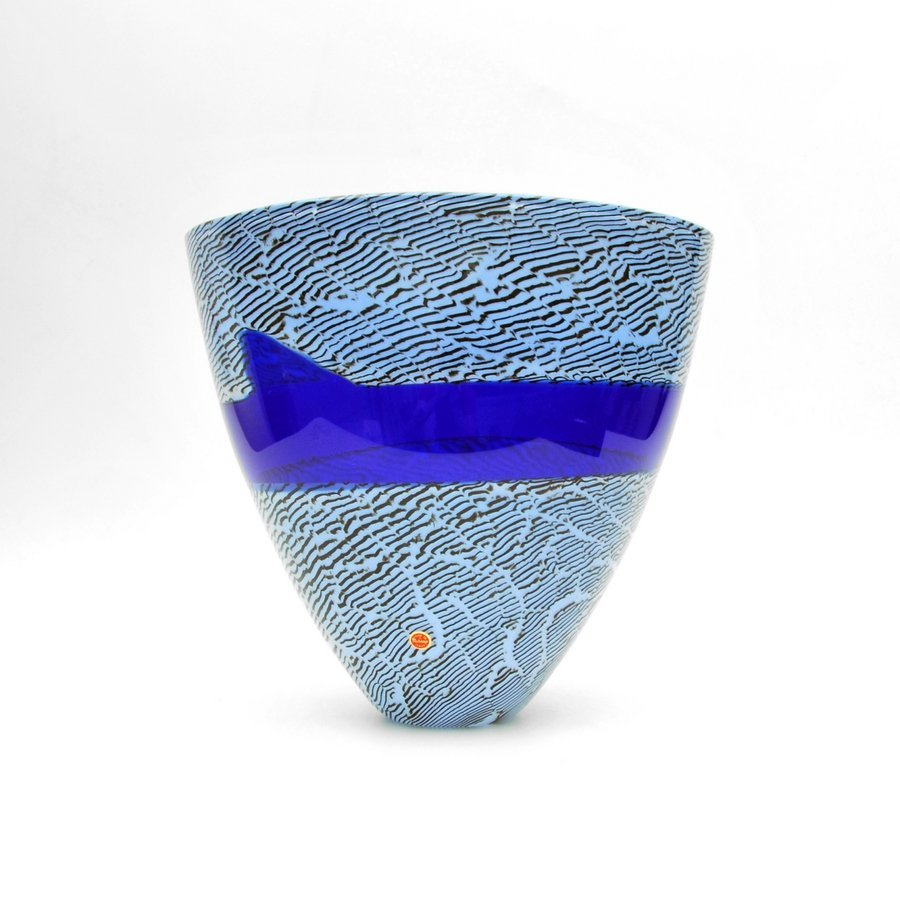 "Large Giampaolo Seguso ""Nilo"" Vase, Limited Edition"