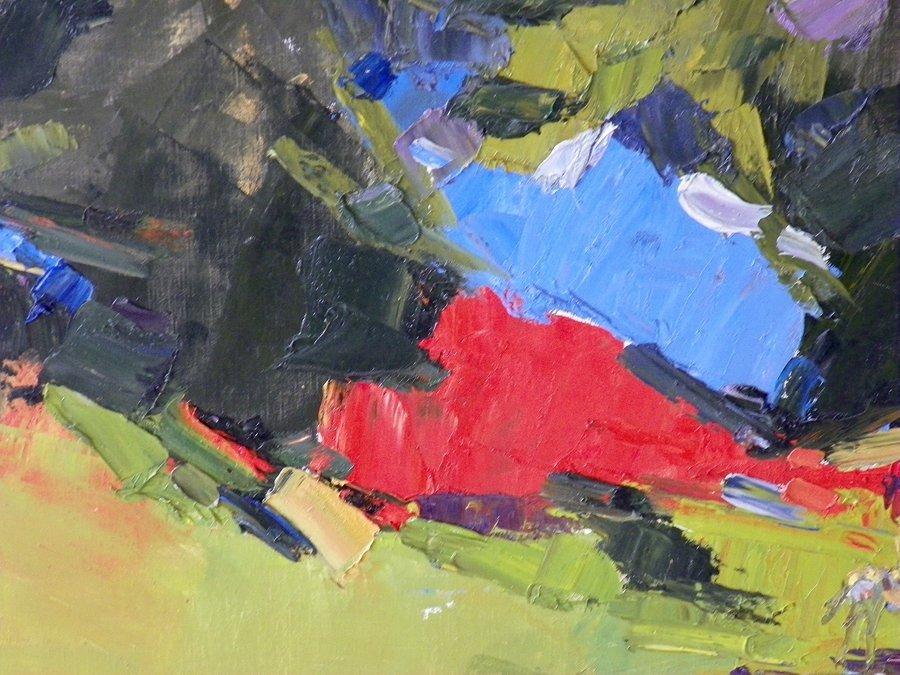 Large Italo George Botti Painting, Original Work - 4