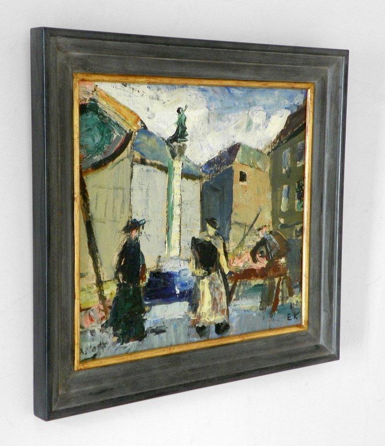 Einar Nielsen Korlind Painting, Original Painting - 3