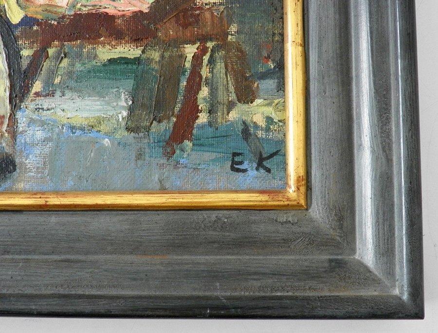 Einar Nielsen Korlind Painting, Original Painting - 4