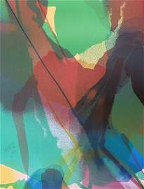 """Paul Jenkins """"Phenomena"""" Lithograph, Limited Edition"""
