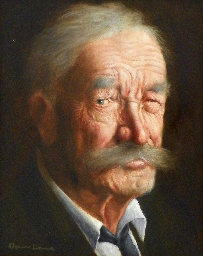 Joseph Dawley Painting, Original Work