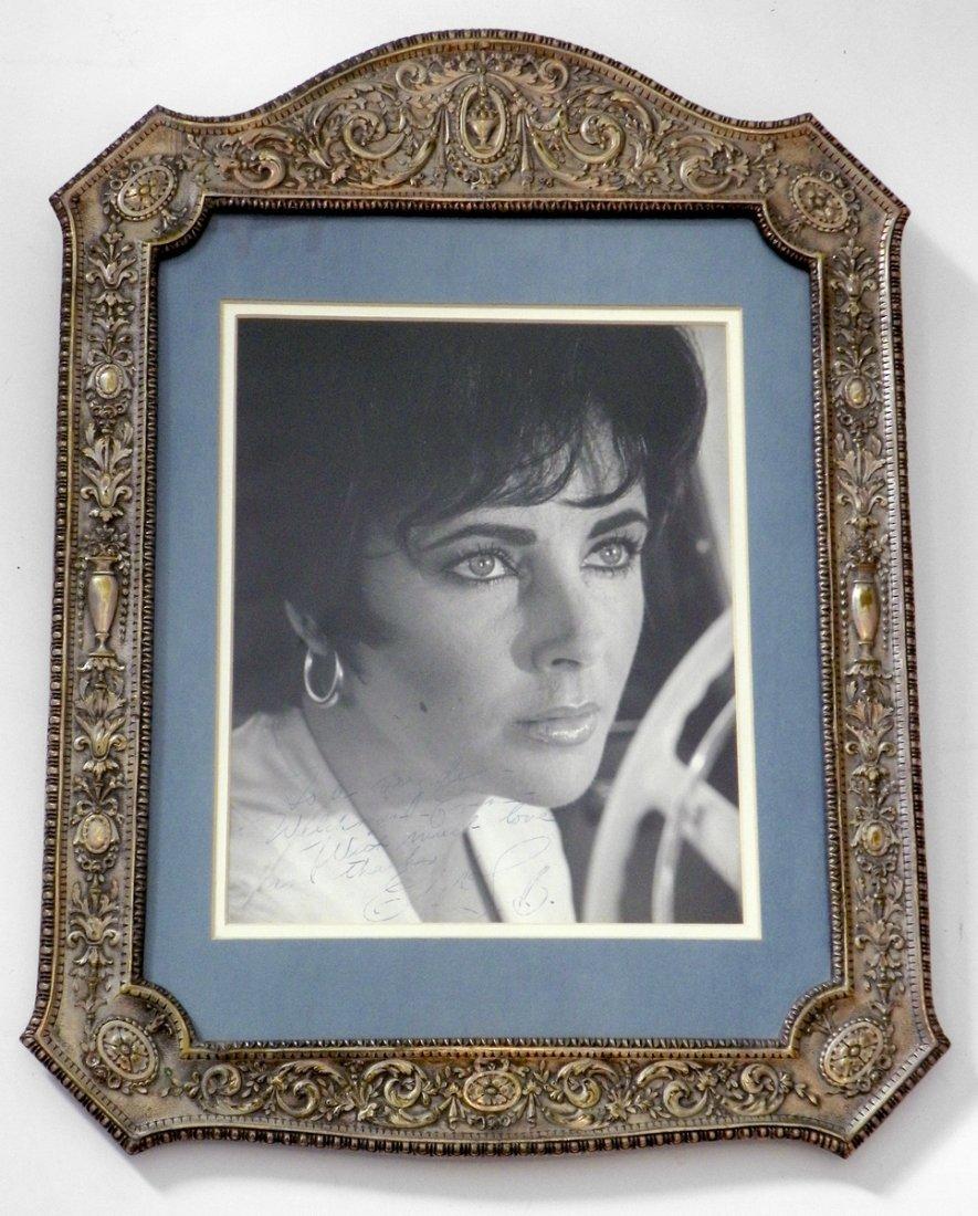 Framed Photo of Elizabeth Taylor