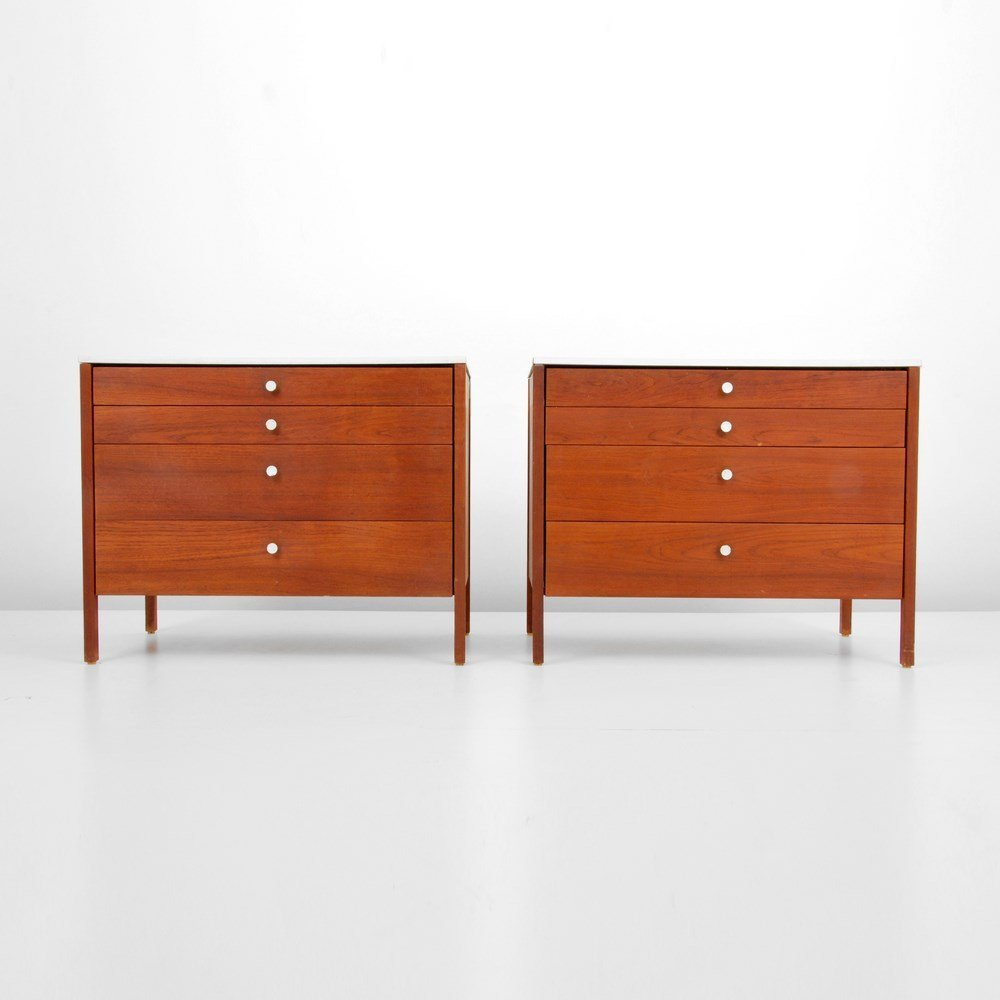 Pair of Florence Knoll Cabinets