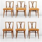 Tommi Parzinger Dining Chairs, Set of 6