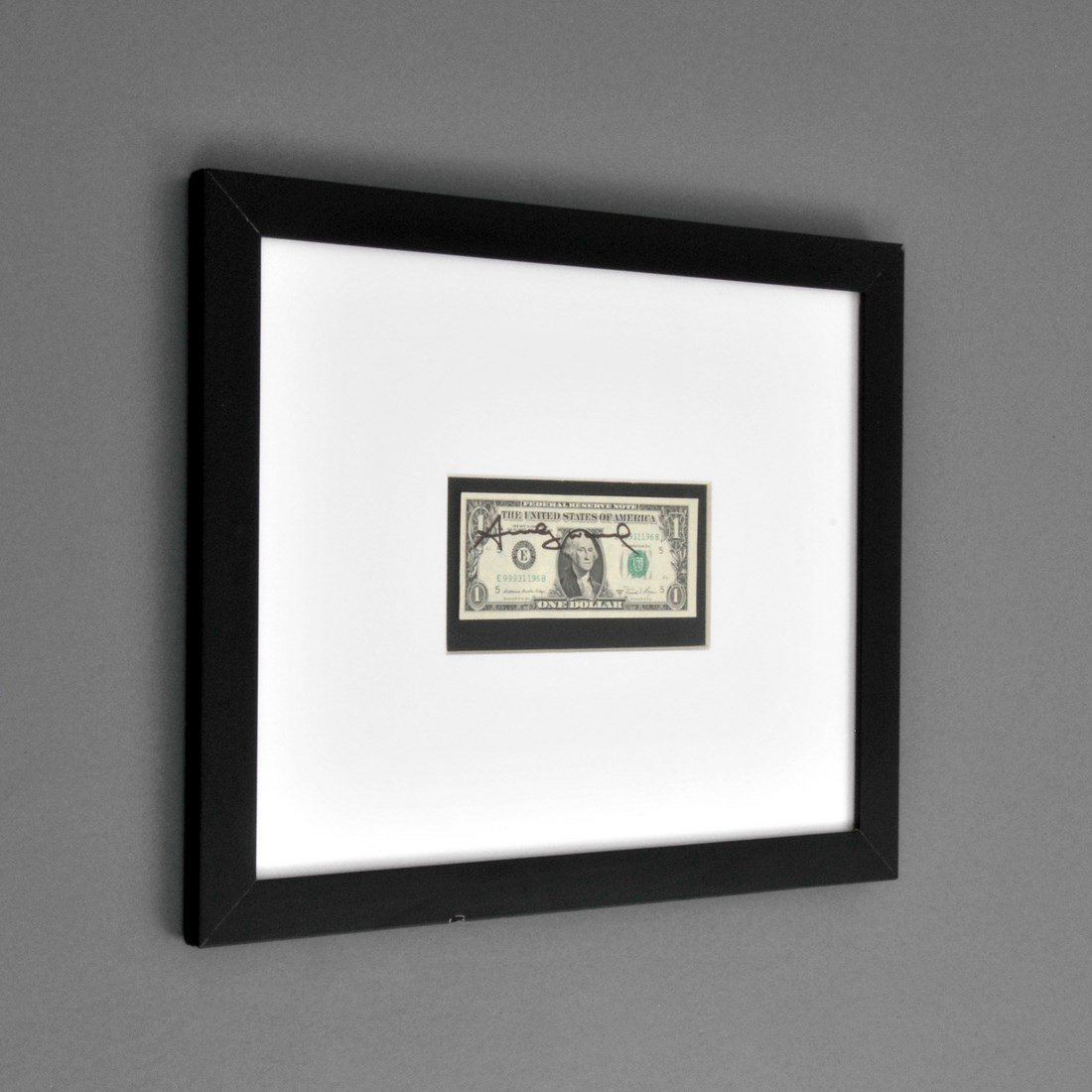 One Dollar Bill, Signed Andy Warhol - 2