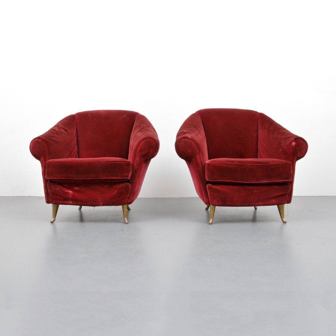 Gio Ponti 'Model 12690' Lounge Chairs