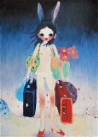 Aya Takano Lithograph, Signed Edition