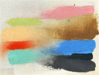 Friedel Dzubas Painting, Original Work