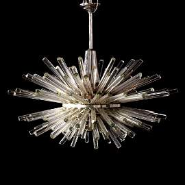"""Large Bakalowits & Sohne """"Miracle"""" Chandelier"""