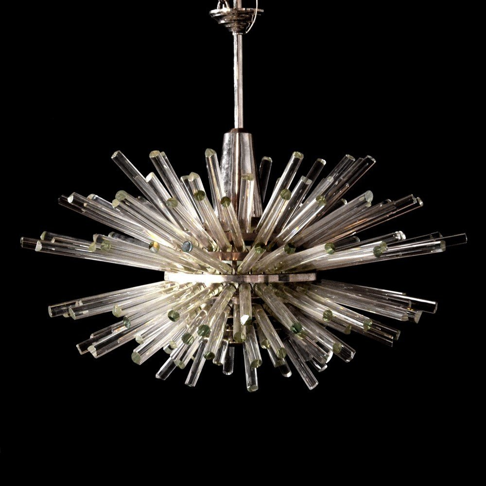 "Large Bakalowits & Sohne ""Miracle"" Chandelier"