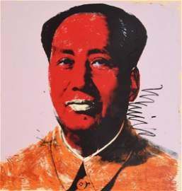 "Andy Warhol ""Mao"" Silkscreen"