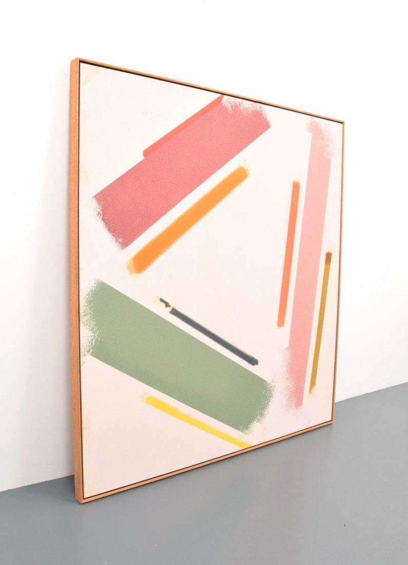 Large Stuart Waltzer Painting, Original Work - 3