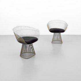 Pair Of Warren Platner Chairs