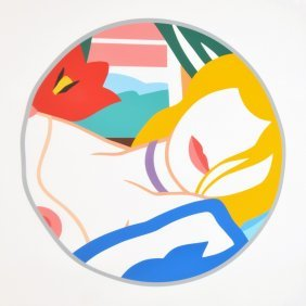 Large Tom Wesselmann Lithograph, Limited Edition