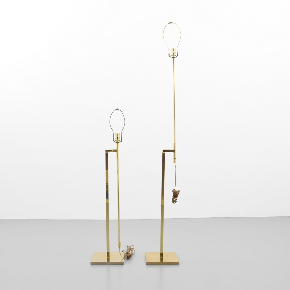 Pair of Laurel Lamp Co.  Floor Lamps