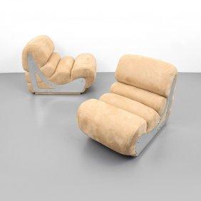 Pair Of Kappa Lounge Chairs