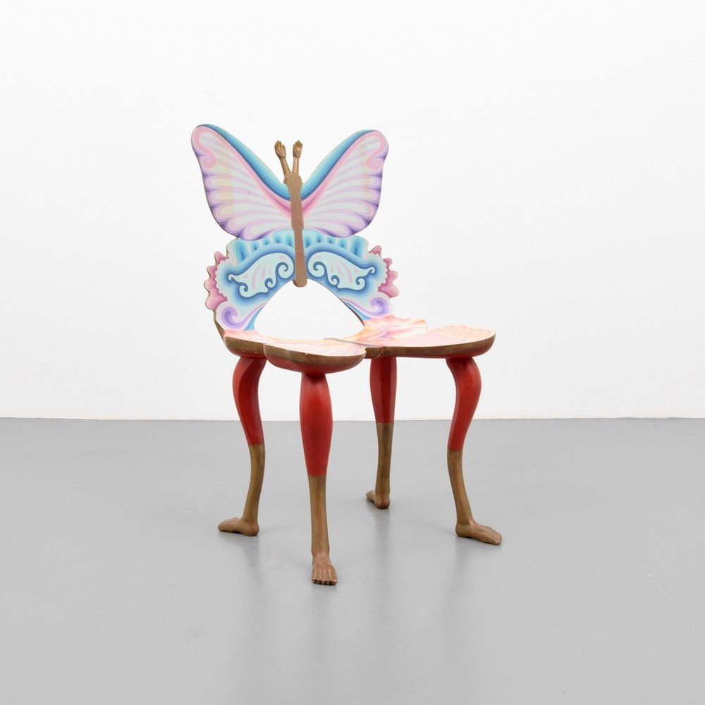 Pedro Friedeberg Butterfly & Foot Chair (Full-Size)
