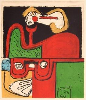 Rare Le Corbusier Lithograph, Limited Edition