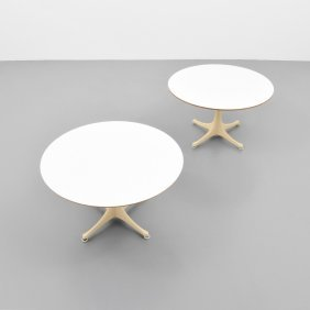 George Nelson & Assoc. Swag Leg Occasional Tables