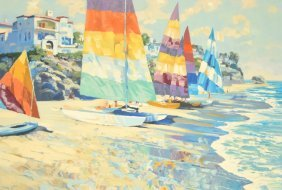 Howard Behrens Lithograph, Signed Limited Edition