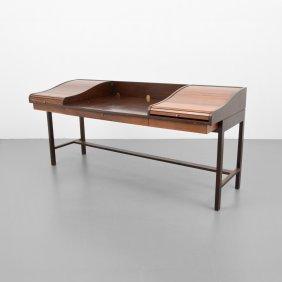 Edward Wormley Executive Roll-top Desk
