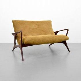 Vladimir Kagan Contour Loveseat/sofa