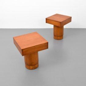 Pair Of Vladimir Kagan Nightstands/tables