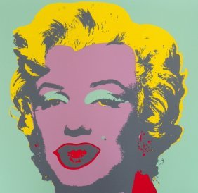 Andy Warhol (after) Marilyn Portfolio Of 10