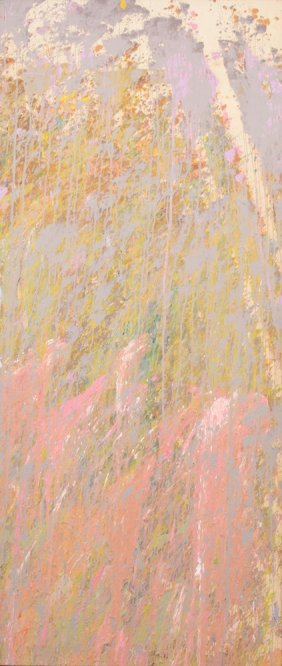 Large Larry Poons Painting, Original Work